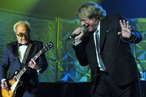 Lou Gramm y Mick Jones