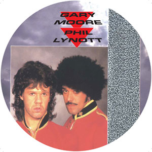 Gary Moore y Phil Lynott - Out In Th Fields