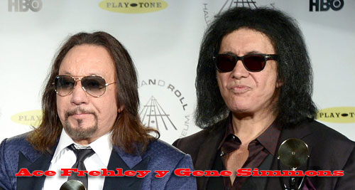 Gene Simmons y Ace Frehley