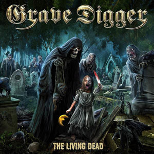 GRAVE DIGGER- The Living Dead