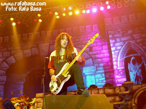 Steve Harris de IRON MAIDEN