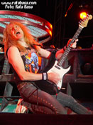 Janick Gers de Iron Maiden. Foto: Basa