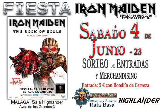 Fiestas IRON MAIDEN