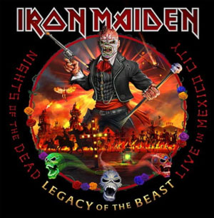 IRON MAIDEN - Nights Of The Dead - Live in Mexico
