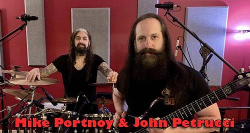 John Petrucci & Mike Portnoy