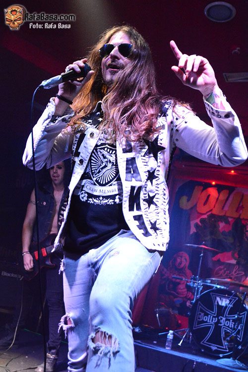 JOLLY JOKER - Miércoles 18 de Marzo de 2015 - Sala We Rock - Madrid