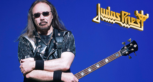 Ian Hill de JUDAS PRIEST