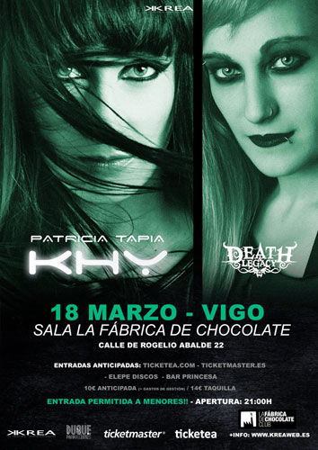 Patricia Tapia KHY + DEATH&LEGACY