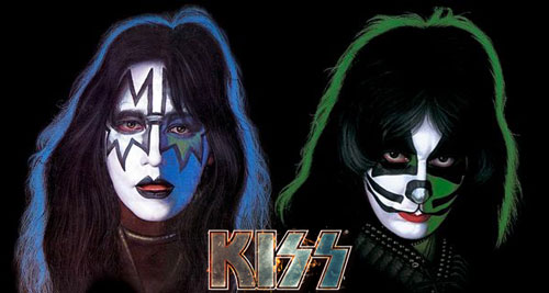 Ace Frehley y Peter Criss