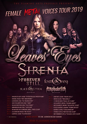 LEAVES' EYES y SIRENIA
