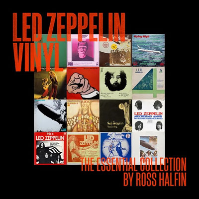 Led Zeppelin Vinyl: The Essential Collection By Ross Halfin