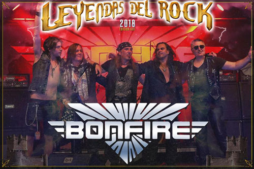 LEYENDAS DEL ROCK: BONFIRE sustituyen a TENGGER CAVALRY