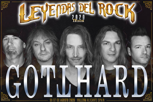 Leyendas el Rock 2020 Gotthard