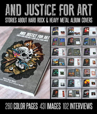 Volume 3: Stories About Hard Rock & Heavy Metal Album Covers