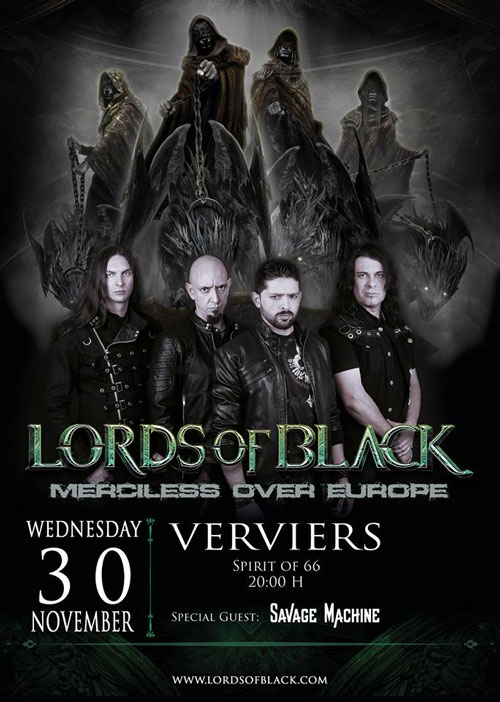 LORDS OF BLACK EUROPA