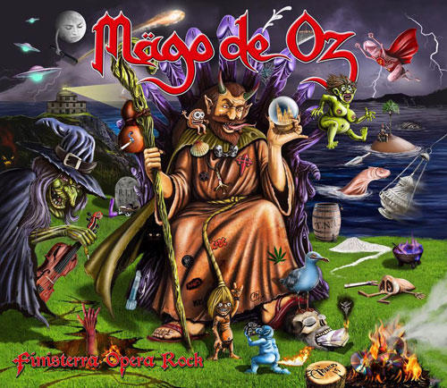 MAGO DE OZ - Finisterra Ópera Rock