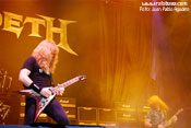 Megadeth - Foto: Juan Pablo Agudelo