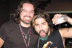 Mike Portnoy y Russell Allen