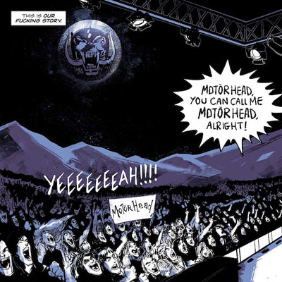 Motörhead: The Rise Of The Loudest Band In The World: The Authorized Graphic Novel