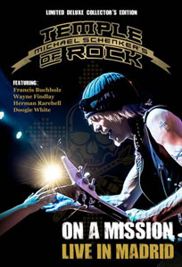 MICHAEL SCHENKER'S TEMPLE OF ROCK - On A Mission – Live In Madrid