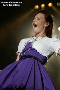 Anette Olzon de Nightwiswh