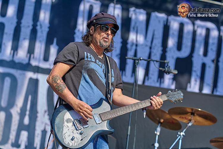 PHIL CAMPBELL AND THE BASTARDS SONS - Viernes 15 de Junio de 2018 - Auditorio Ruta de la Plata - Zamora