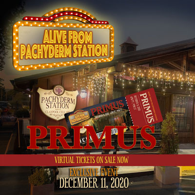 PRIMUS - Alive From Pachyderm Station