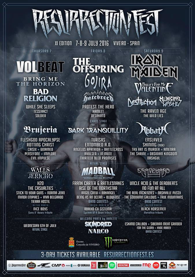 Resurrection Fest Cartel