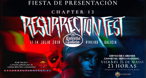Resurrection Fiesta Zaragoza