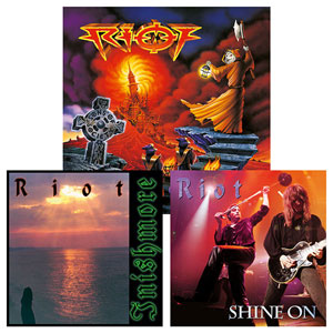 RIOT - Inishmore, Shine On y Sons of Society