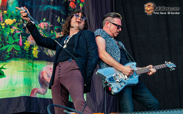 RIVAL SONS - DOWNLOAD FESTIVAL MADRID 2019
