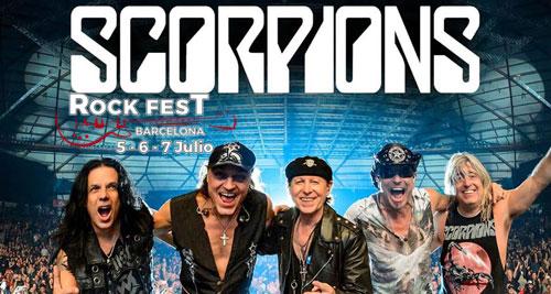 ROCK FEST BARCELONA: SCORPIONS son los últimos cabezas de cartel