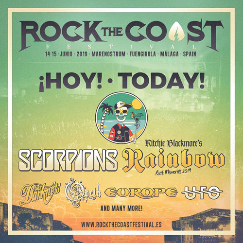 ROCK THE COAST FESTIVAL 2019