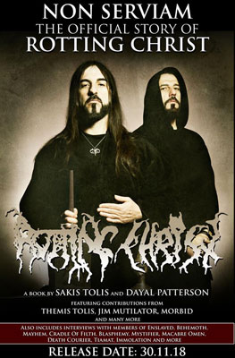 ROTTING CHRIST - Non Serviam: The Official Story Of Rotting Christ