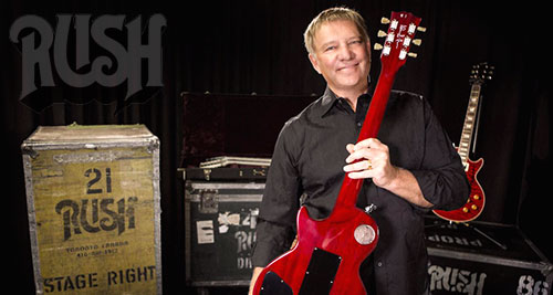 RUSH Alex Lifeson