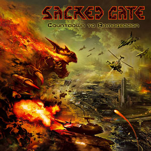 SACRED GATE - Countodown To Armageddon