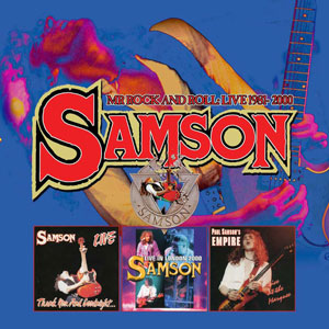 SAMSON - Mr. Rock And Roll: Live 1981-2000