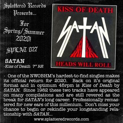 SATAN - Kiss Of Death