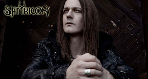 """Sigurd """"Satyr"""" Wongraven de SATYRICON"""