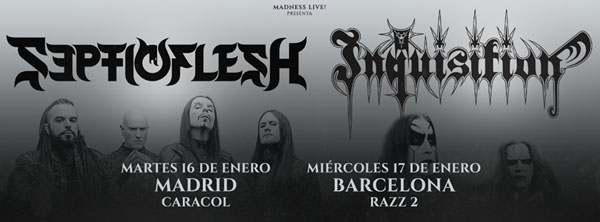 SEPTICFLESH + INQUISITION