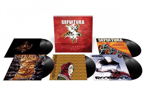 SEPULTURA - Sepulnation - The Studio Albums 1998-2009
