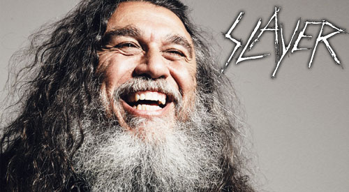 SLAYER: Tom Araya
