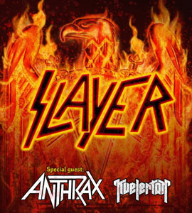 SLAYER y ANTHRAX