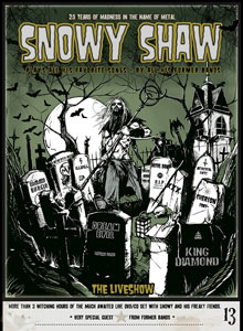 Snowy Shaw - The Liveshow: 25 Years Of Madness In The Name Of Metal