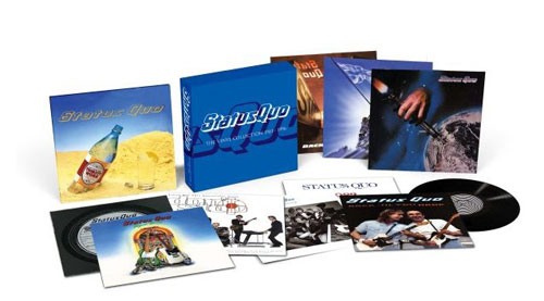 STATUS QUO - The Vinyl Collection 1981-1996
