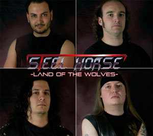 STEEL HORSE - Land Of The Wolves