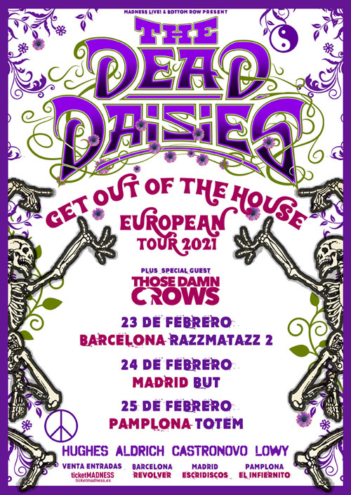 The Dead Daisies: Holy Ground (2021) Cartel2021