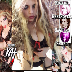 THE GREAT KAT - Mozart, Beethoven, Bach And Shred