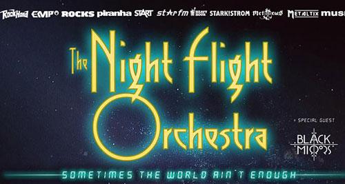 THE NIGHT FLIGHT ORCHESTRA + BLACK MIRRORS en Diciembre en Madrid y Barcelona