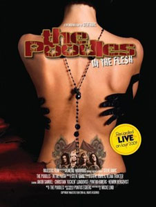 THE POODLES - In The Flesh DVD